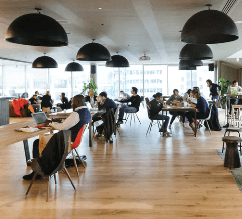 Coworking and hot desks